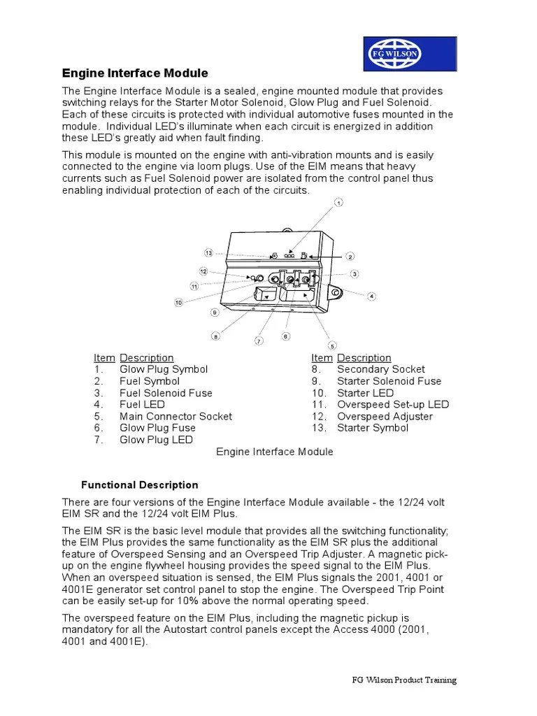 engine interface module relay fuse electrical solid state relay wiring [ 768 x 1024 Pixel ]