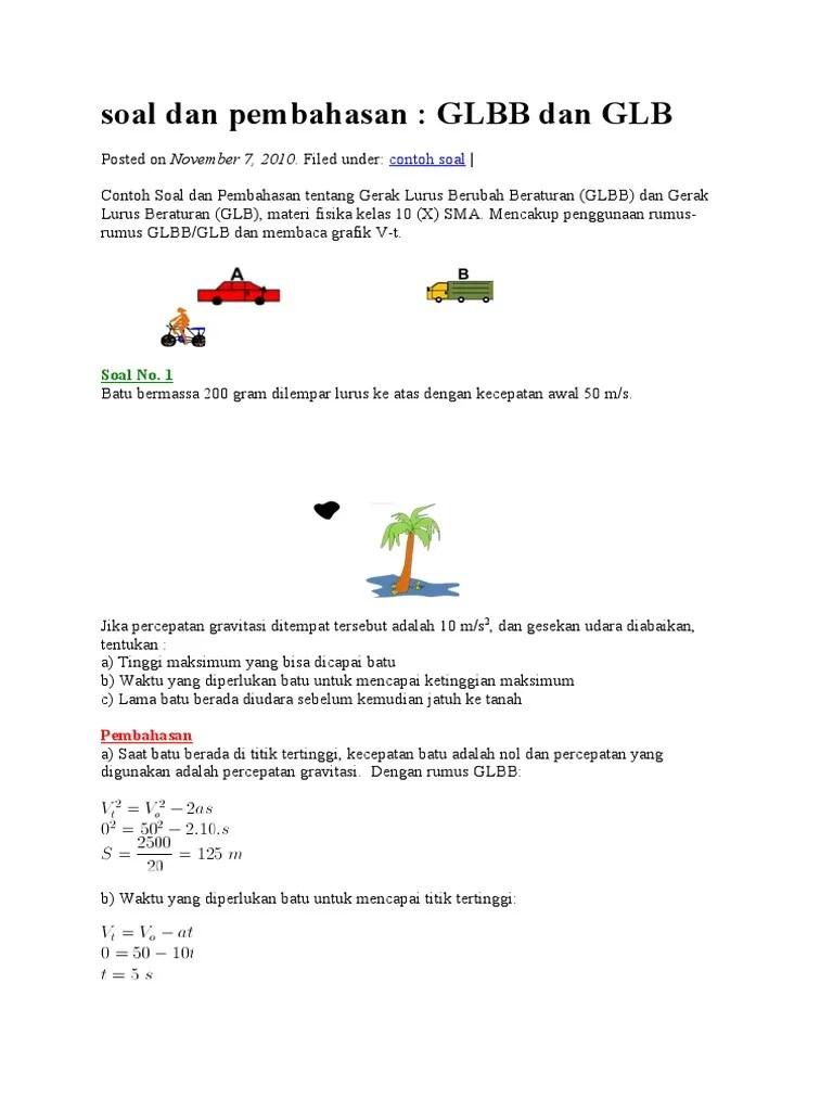Materi Gerak Lurus Smp Kelas 8 : materi, gerak, lurus, kelas, Contoh, Kelas