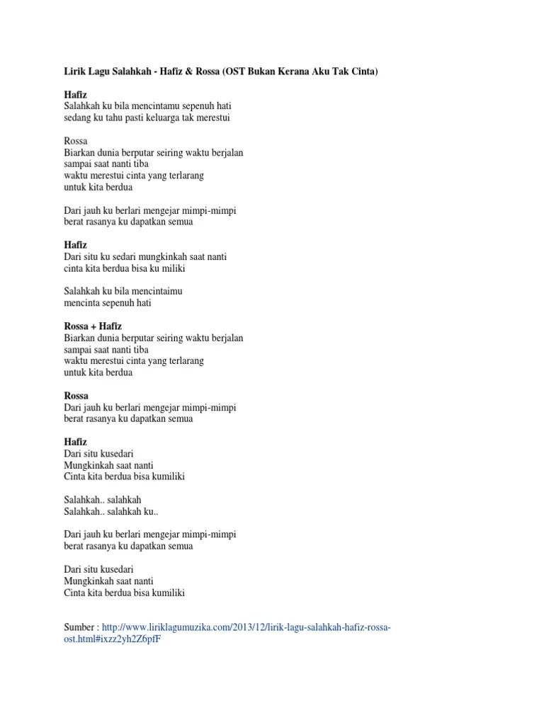 Download Lagu Salahkah Bila Diriku Terlalu Mencintaimu : download, salahkah, diriku, terlalu, mencintaimu, Download, Rossa, Salahkah