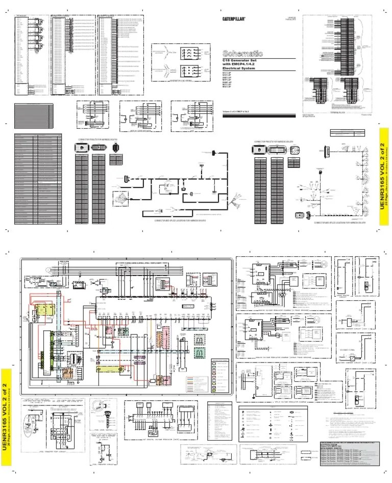 C15 Wiring Schematic To Ecm. Diagrams. Wiring Diagram Gallery