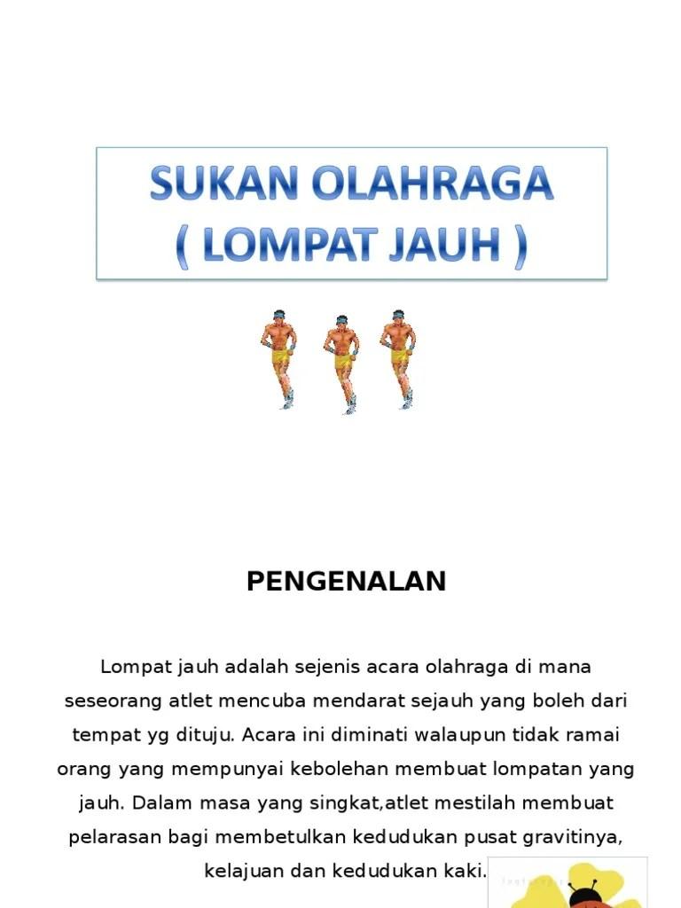 Langkah Langkah Melakukan Lompat Jauh : langkah, melakukan, lompat, Lompat