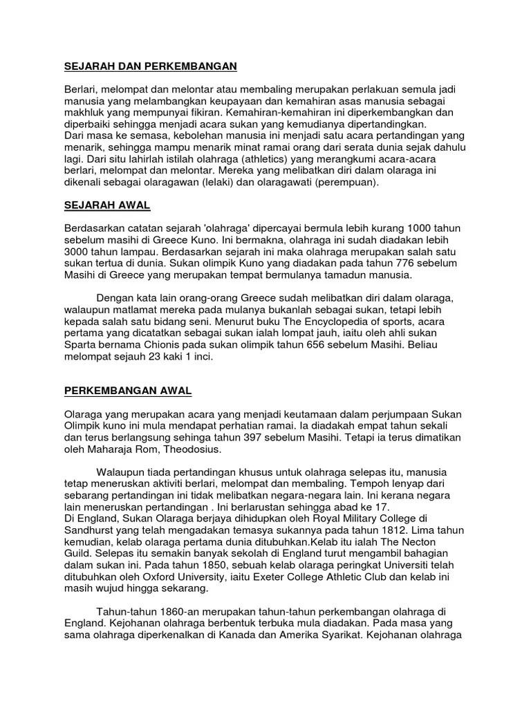 Sejarah Lompat Jauh Di Indonesia : sejarah, lompat, indonesia, Sejarah, Perkembangan