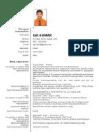 C Developer  Sample Resumes  CV