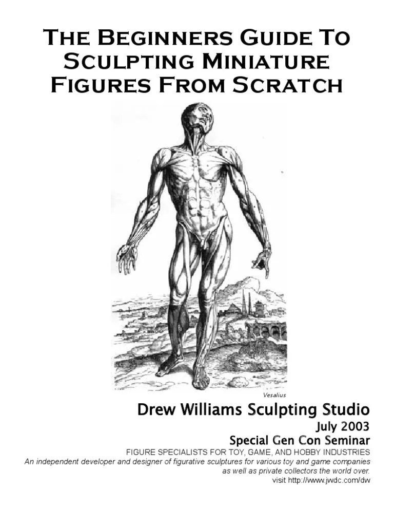 The Beginners Guide to Sculpting Miniature Figures