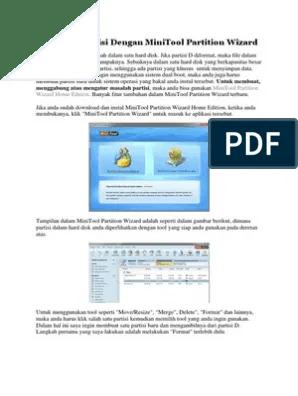 Cara Menggunakan Minitool Partition Wizard : menggunakan, minitool, partition, wizard, Mengatur, Partisi, Dengan, MiniTool, Partition, Wizard