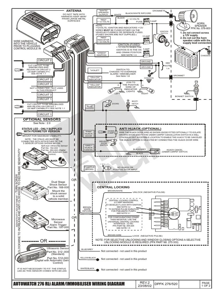 small resolution of autowatch car alarm wiring diagram