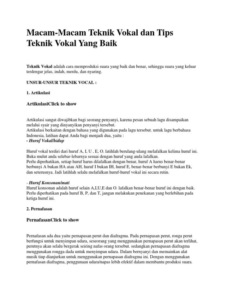 Bernyanyi Unisono: Pengertian, Teknik Vokal dan Organ