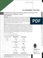 AIA B201 | Construction Bidding | Architect