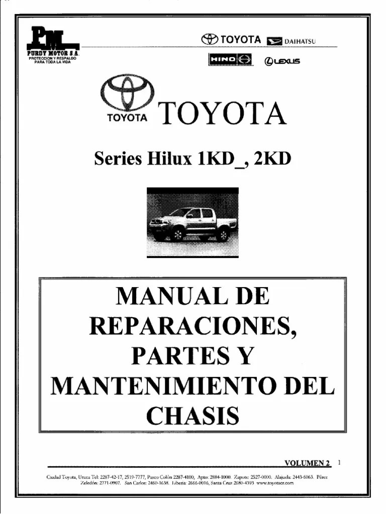 medium resolution of manual toyota hilux pdf