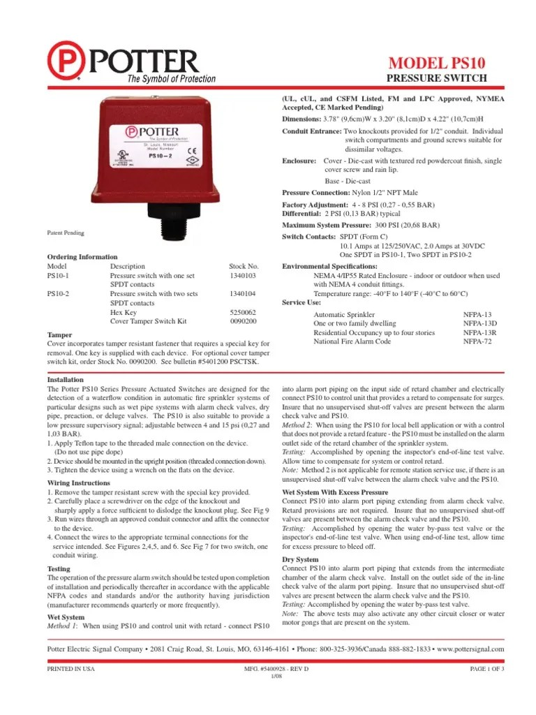 medium resolution of document potter fire sprinkler system switch 1509172098 document potter fire sprinkler system switch wiring diagram potter tamper switch at cita asia
