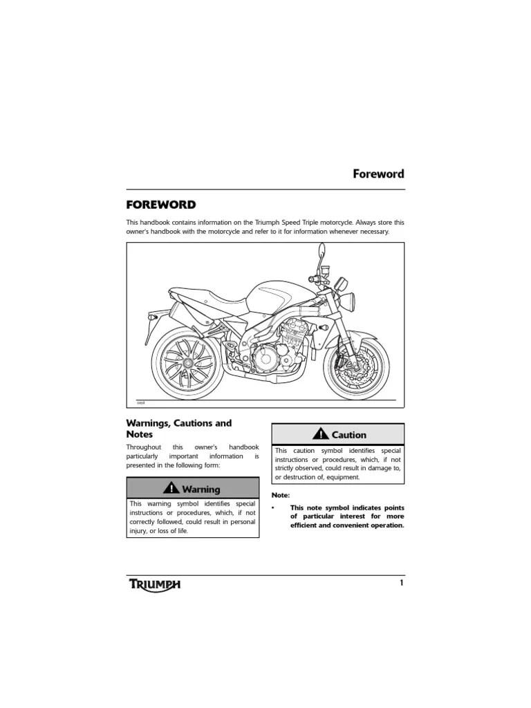 Wiring Diagram Triumph Tiger 1050