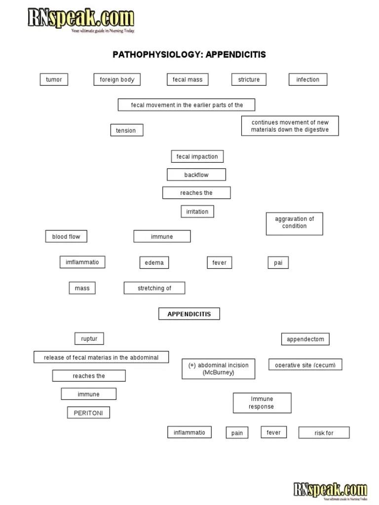 medium resolution of appendicitis pathophysiology schematic diagram appendicitis schematic diagram appendicitis schematic diagram