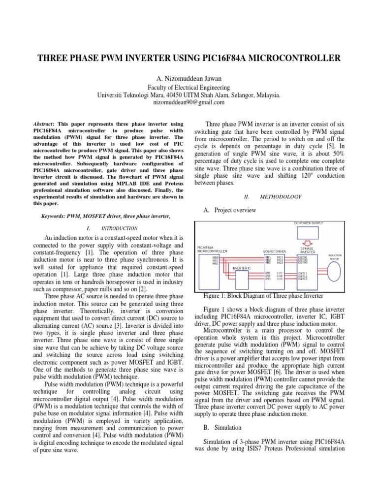 hight resolution of 3 phase inverter block diagram