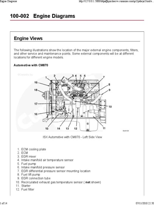 small resolution of mins isx engine cooling system diagram m11 engine diagram