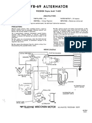 Wisconsin Vh4d Firing Order : wisconsin, firing, order, Wisconsin, Motor, Firing, Order, Diagram, Wiring, Database