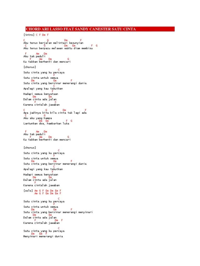Chord Ari Lasso Seandainya : chord, lasso, seandainya, Chord, Lasso, Andra, Backbone, Tahta