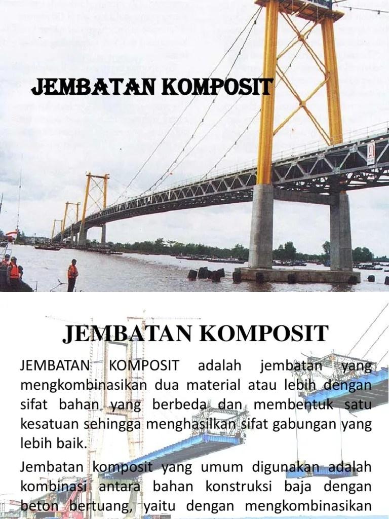 Gambar Jembatan Komposit : gambar, jembatan, komposit, Jembatan, Komposit