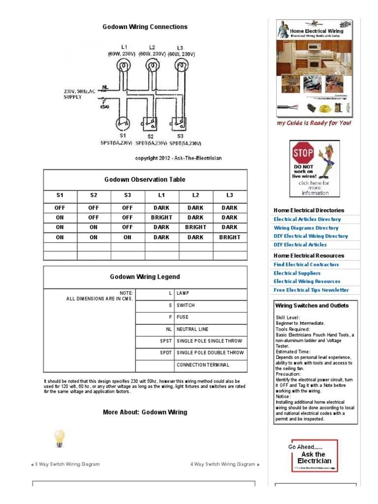 godown wiring theory pdf [ 768 x 1024 Pixel ]