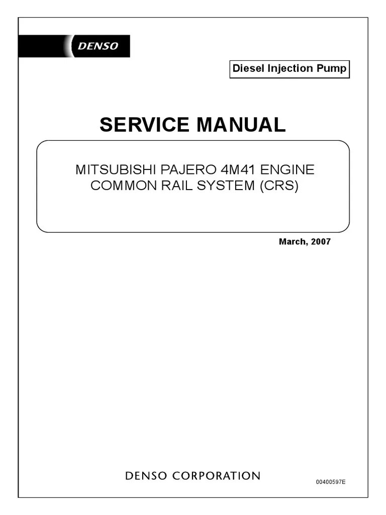 4m41 engine common rail system throttle fuel injection mitsubishi 4m41 wiring diagram  [ 768 x 1024 Pixel ]