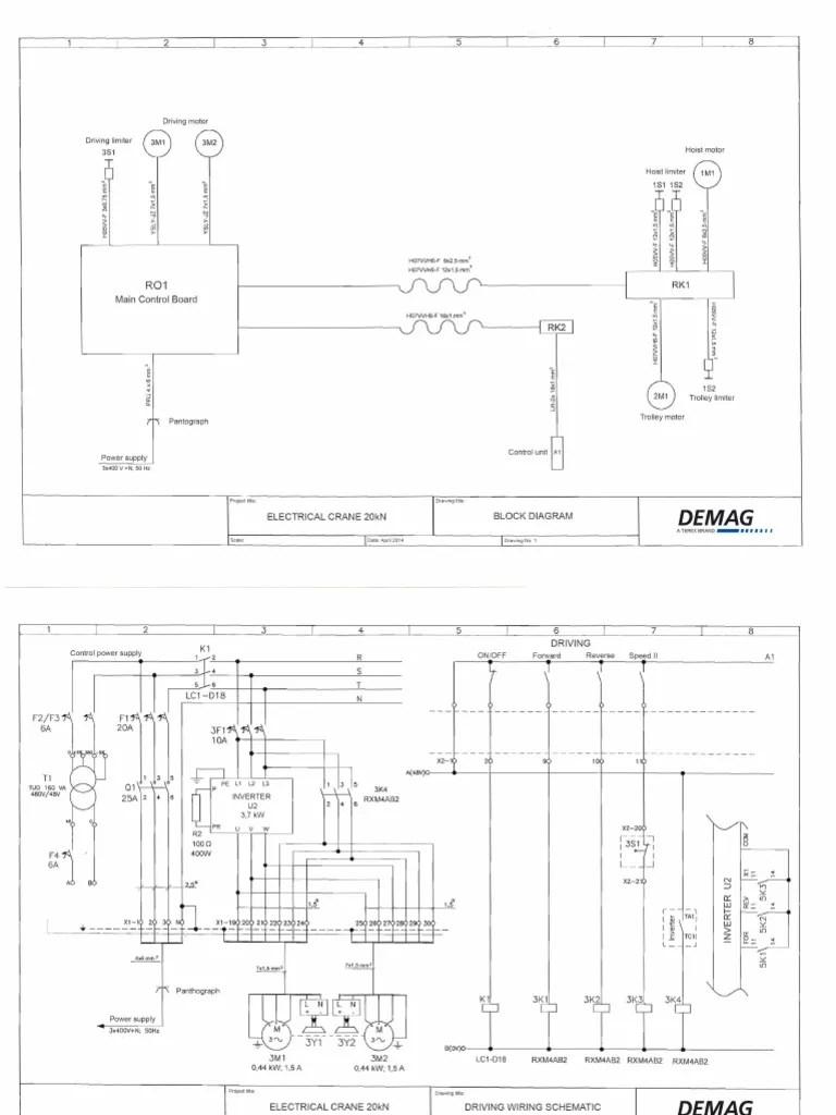 hight resolution of demag dkun hoist wiring diagram wiring diagram basic demag crane wiring schematicdemag dkun hoist wiring diagram