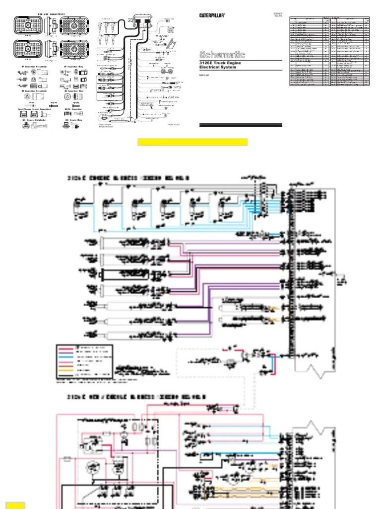medium resolution of 3126e wiring schmatic cat 3116 wiring diagram cat 3126 wiring diagram connector oem