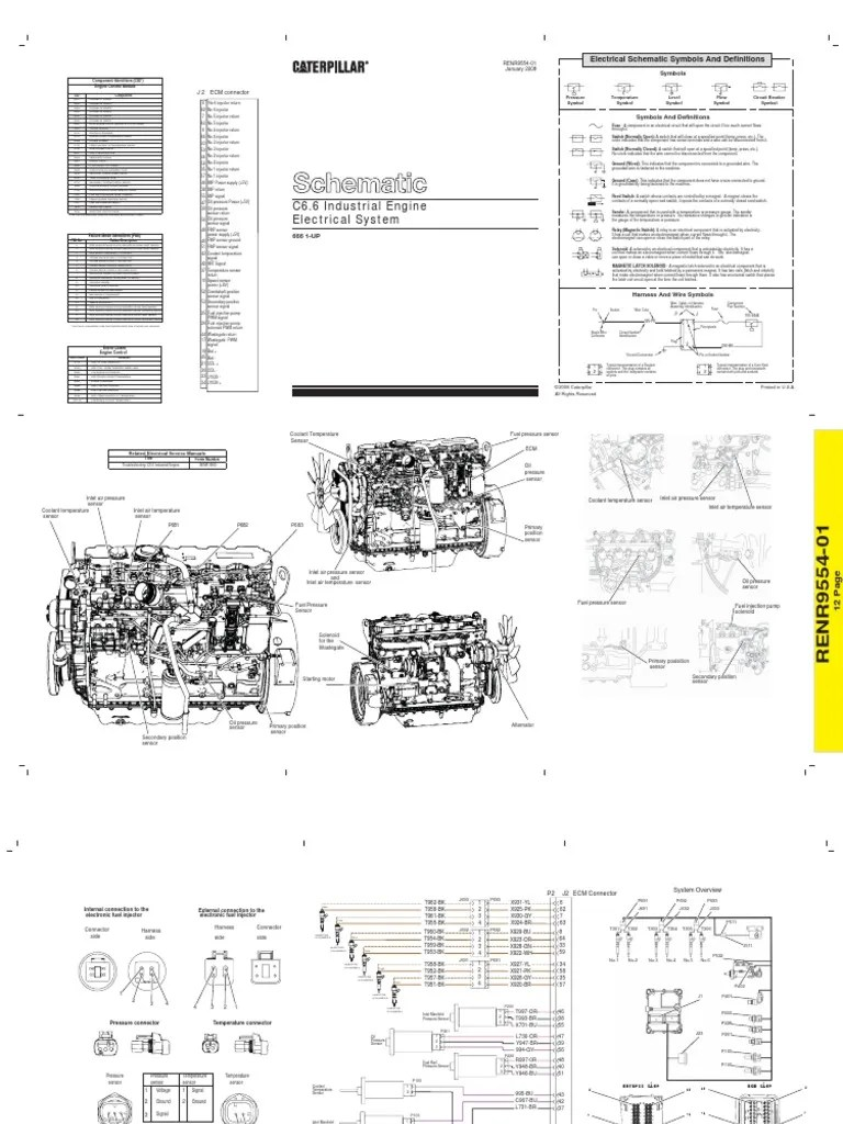hight resolution of c6 6 electrical schematic fuel injection switch cat c6 6 wiring schematics