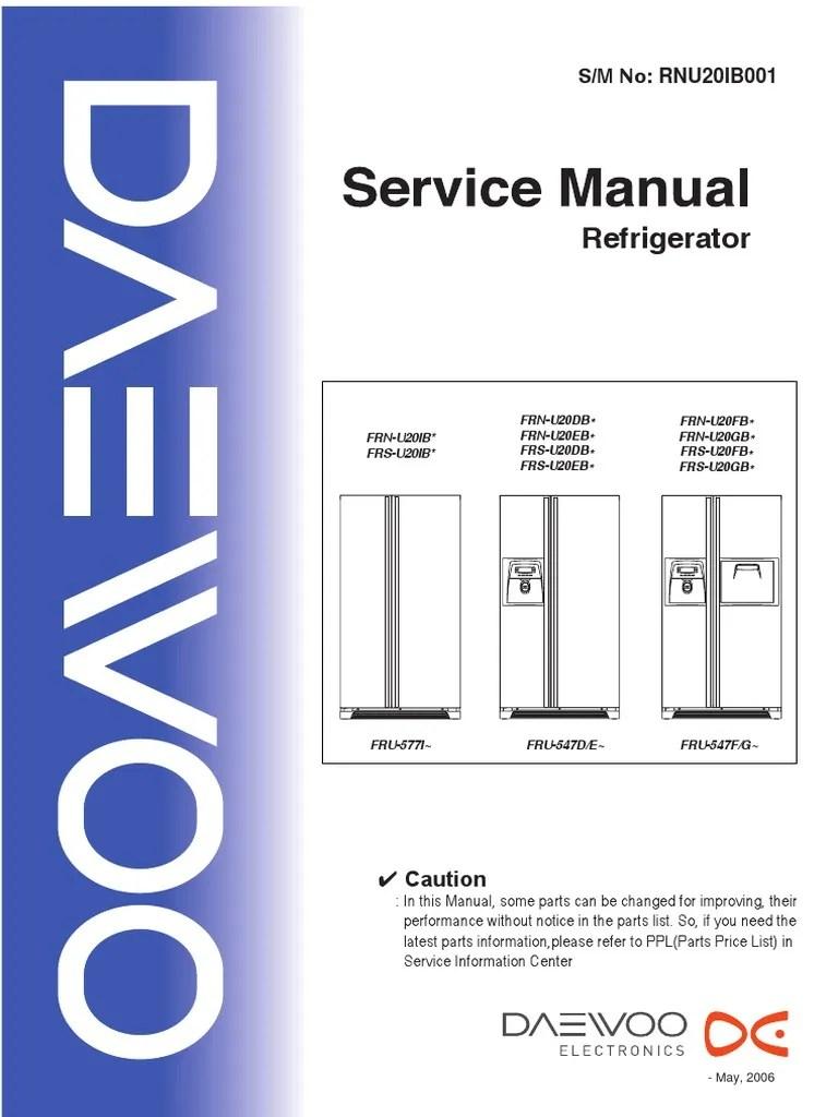 medium resolution of daewoo refrigerator wiring diagram wiring library refrigerator condenser replacement daewoo refrigerator wiring diagram