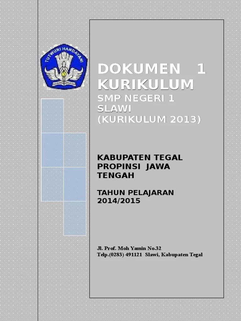 Dokumen 1 Kurikulum 2013 Sd : dokumen, kurikulum, KURIKULUM, (2014-2015).doc
