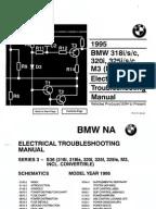 1998 BMW E36 Electrical Wiring Diagram | Switch | Headlamp