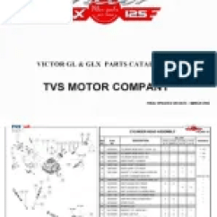 Tvs Fiero F2 Wiring Diagram 240 Volt Motor Spare Price List Carburetor Screw Victor Parts Catalogue