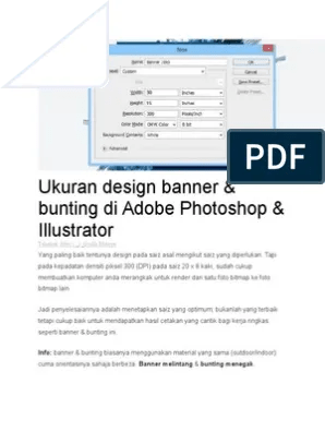 Ukuran Banner Photoshop : ukuran, banner, photoshop, Ukuran, Design, Banner