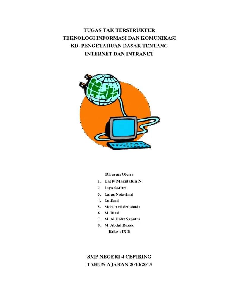 Apa Pengertian Internet Dan Intranet : pengertian, internet, intranet, Internet, Intranet