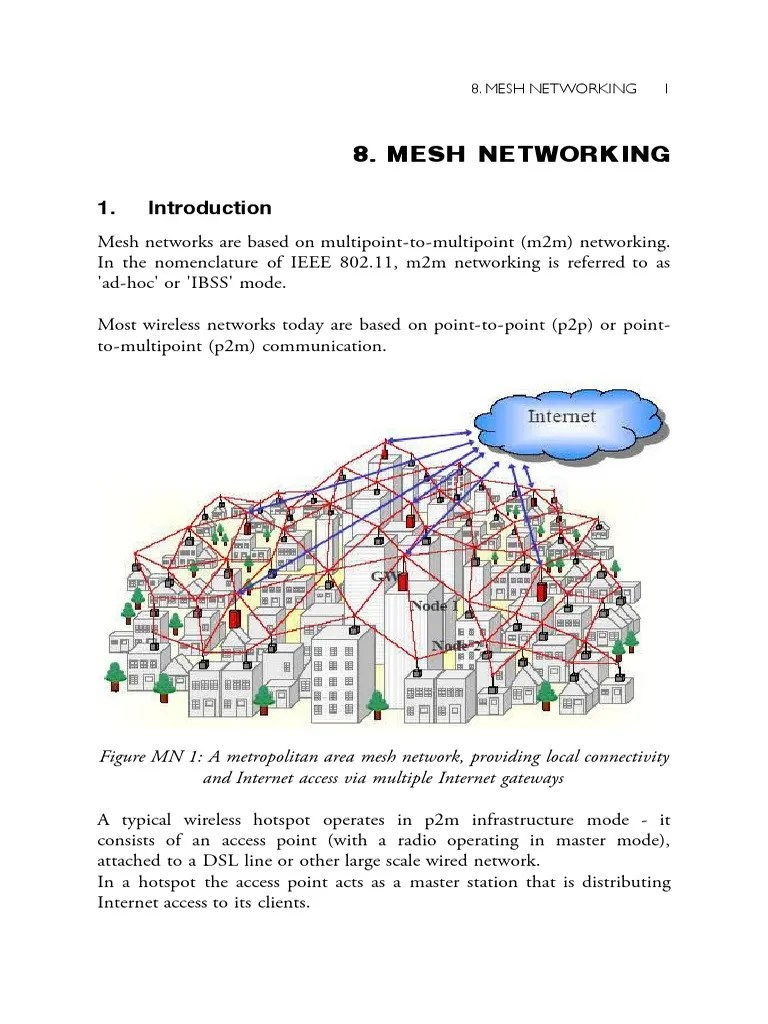 hight resolution of wireles mesh network diagram