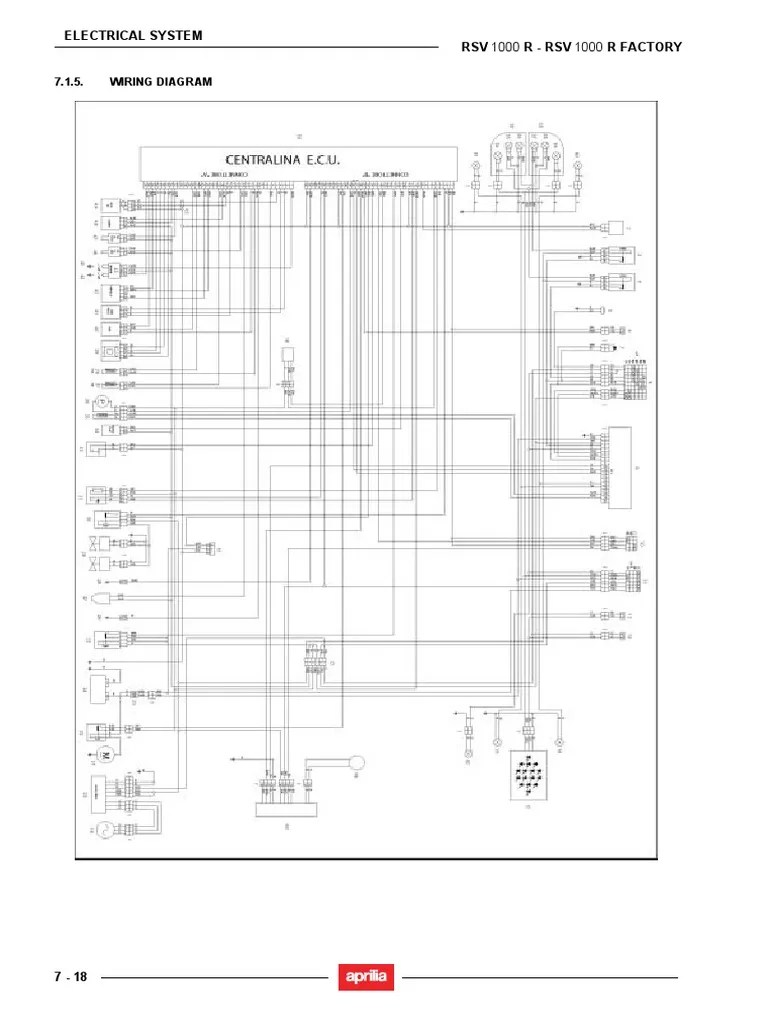 Peachy Wiring Diagram Aprilia Rsv 1000 Electronic Schematics Collections Wiring 101 Olytiaxxcnl