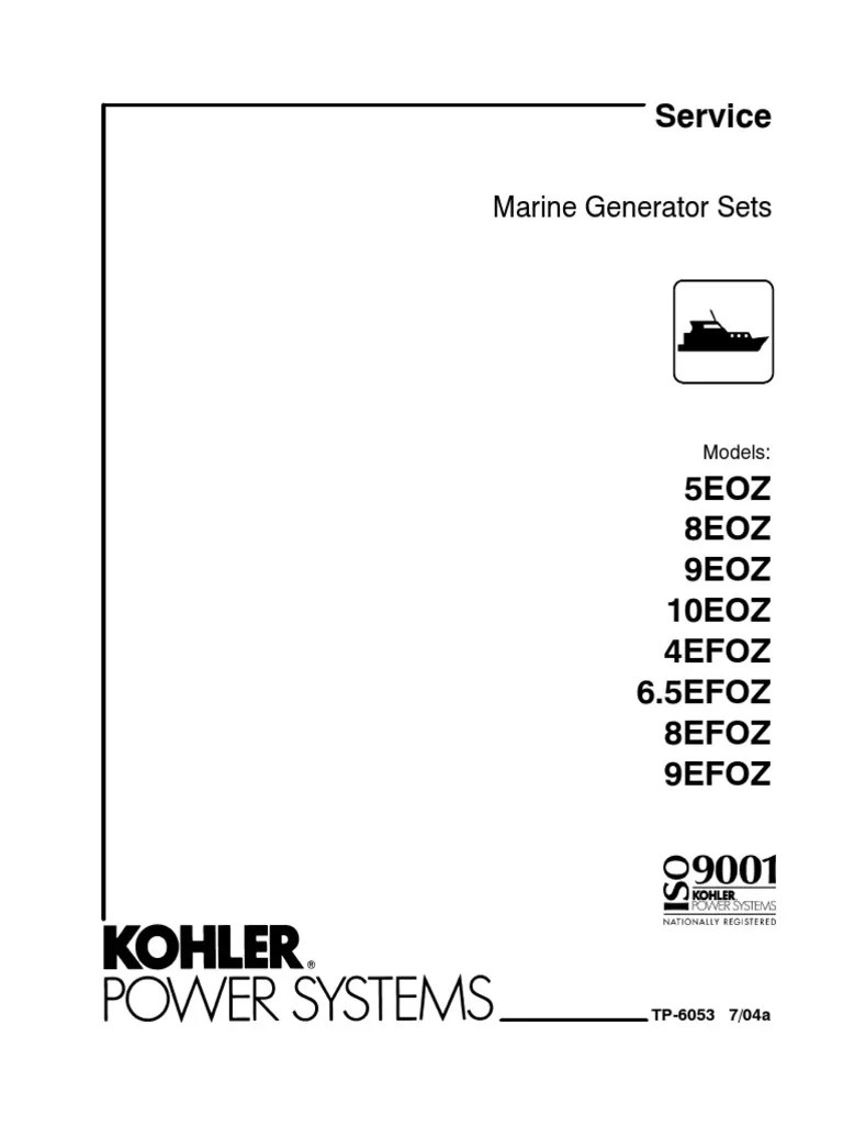 Wiring Diagram For A Kohler 5Eoz Remote Start