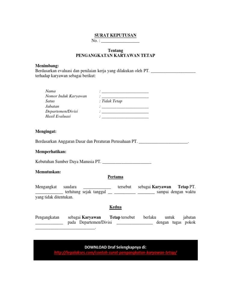 Contoh Surat Pengangkatan Jabatan Karyawan Swasta : contoh, surat, pengangkatan, jabatan, karyawan, swasta, Contoh, Surat, Pengangkatan, Jabatan, Perusahaan, Kumpulan, Penting