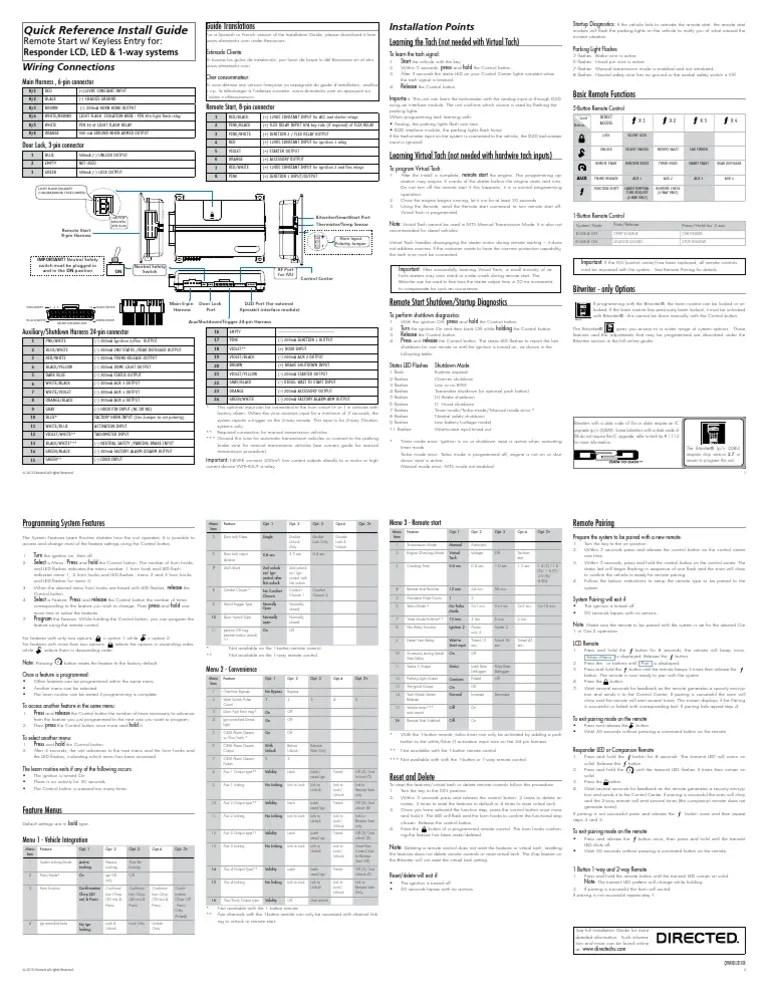 Viper 4105v Wiring Diagram Viper 3105V ~ Elsavadorla