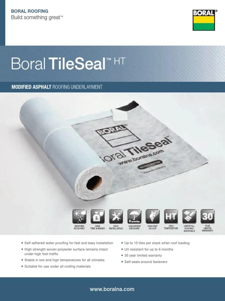 boral tileseal brochure 4 12 pdf roof