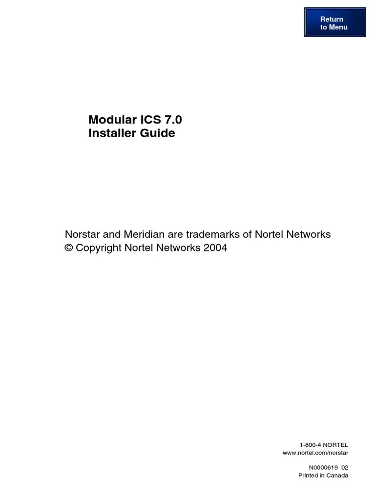 medium resolution of norstar meridian mics 70 installation manual nortel programming guide electromagnetic interference electrical connector