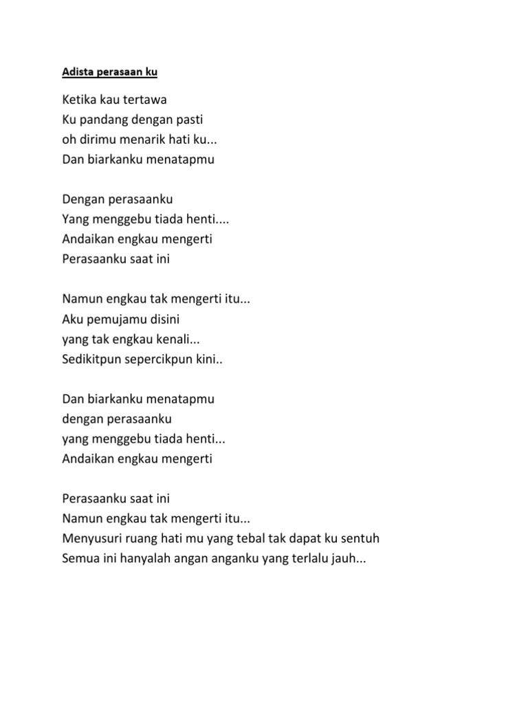 Download Lagu Adista Perasaanku Saat Ini : download, adista, perasaanku, Adista, Perasaan