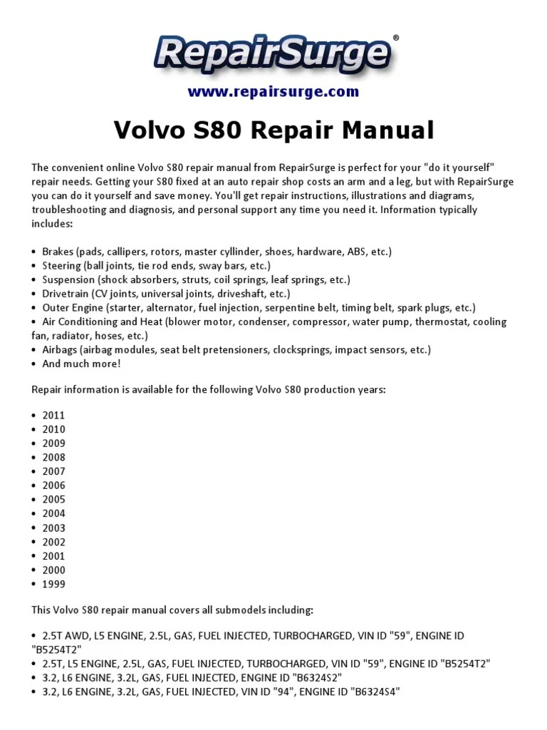 small resolution of engine diagram for 3 2 volvo