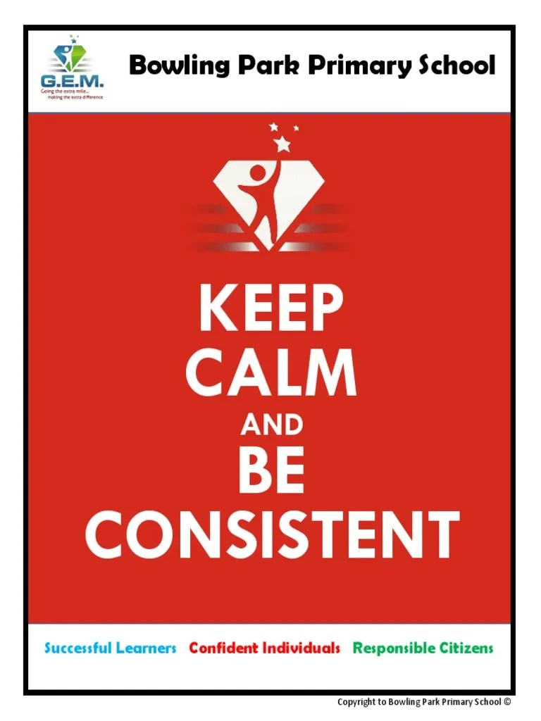 Keep Calm and Be Consistent Booklet | Phonics | Teachers | Free 30-day Trial | Scribd