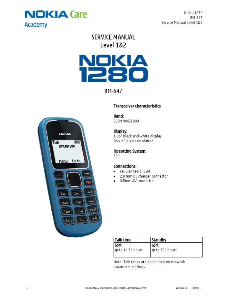 medium resolution of schematic 1280 so do nokia 1 pdf electrostatic discharge battery electricity