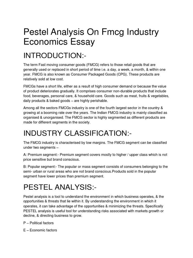 Essay About Industry Essay On Cotton Textile Industry In Swot