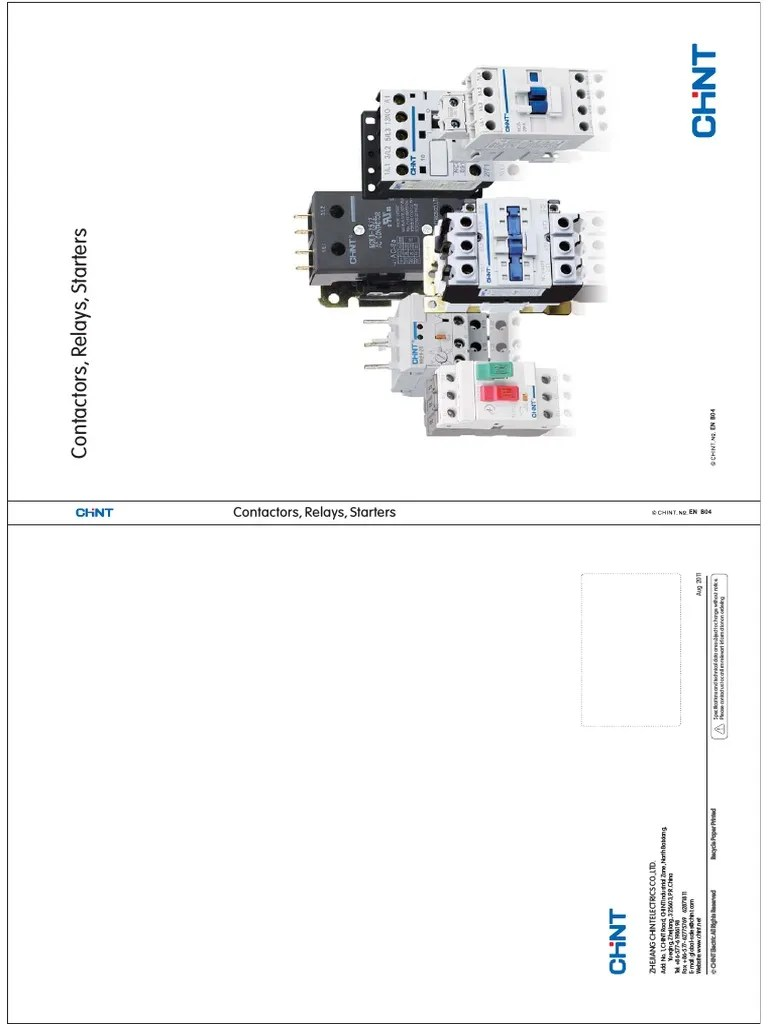 Chint Contactor Wiring Diagram : 30 Wiring Diagram Images