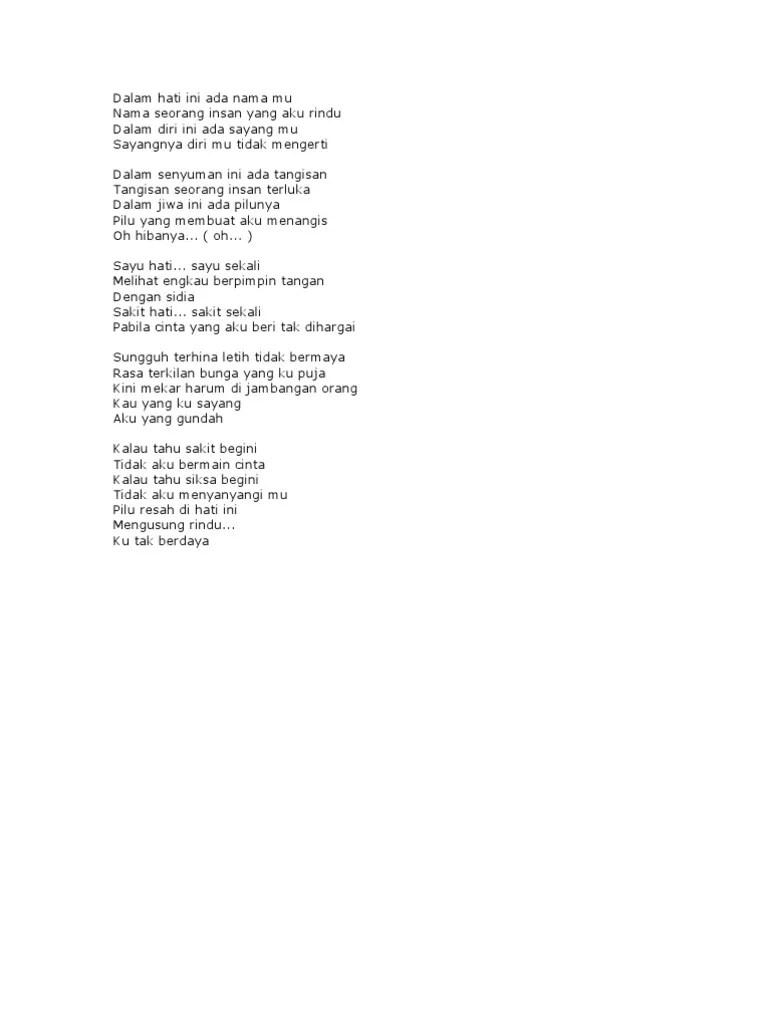 Lirik Lagu Mengusung Rindu : lirik, mengusung, rindu