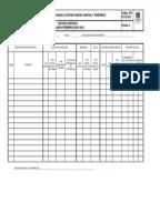 GCF FO 315 016 Lista de Chequeo Limpieza y Desinfeccion de