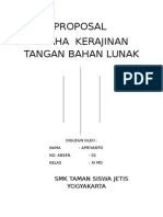 Proposal Kewirausahaan Kerajinan Tangan : proposal, kewirausahaan, kerajinan, tangan, PROPOSAL, USAHA, KERAJINAN, BAHAN, LUNAK