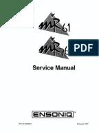 K2500 Service Manual Part 1