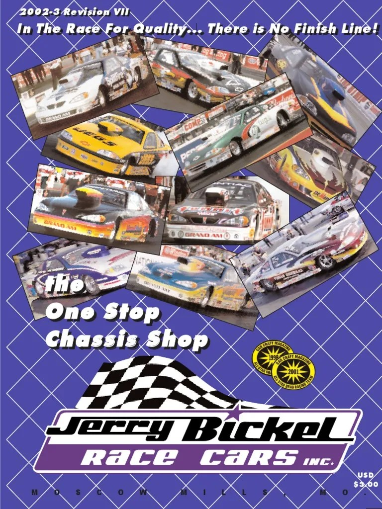 hight resolution of jerry bickell race cars 2002 catalog part 1 steering suspension vehicle
